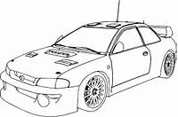 Racecar Coloring Race Car Pages Rally  Coloringstar