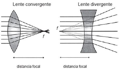lentes divergentes en las lentes divergentes las im 225 genes lectura 2 25 lentes y aparatos 243 pticos