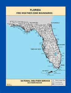 weather map florida state maps florida weather zone boundaries