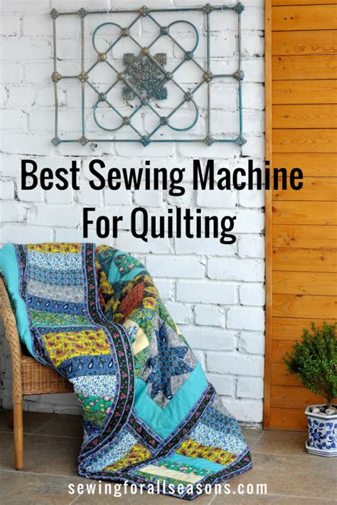 Best Sewing Machine For Quilting 2017 Reviews   Sewing For