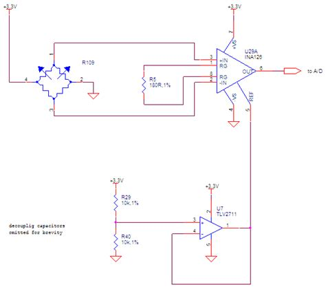 wheatstone bridge with arduino instrumentation lifier how to read wheatstone bridge negative voltage with arduino