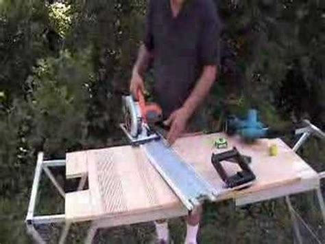 rail saw vs table saw ez smart vs the table saw youtube