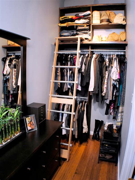 Rolling Closet Ladders by How To Build A Rolling Ladder Hgtv