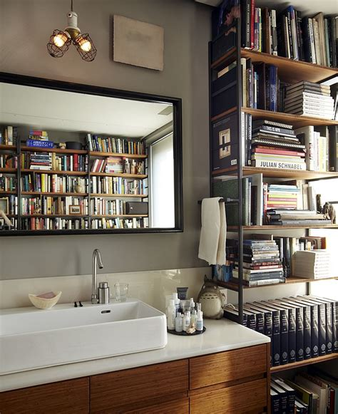 Bathroom Books 15 Ingenious Bathrooms That Embrace Your For Books