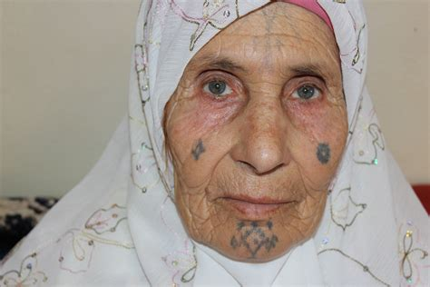 muslim face tattoo 4 background chaouia tattoos