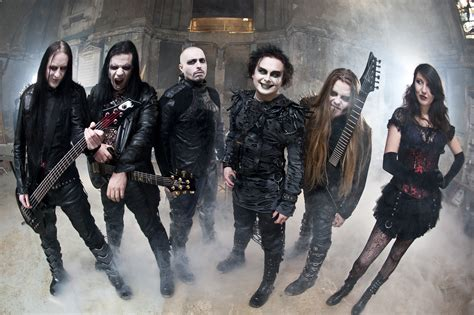 Rok Gotik cradle of filth metal heavy rock band bands