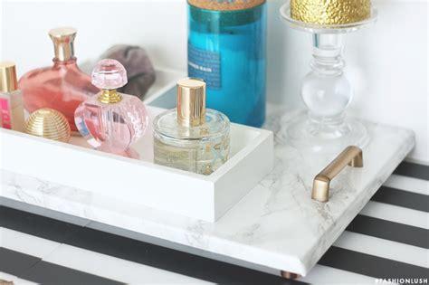 Vanity Perfume Tray Diy Faux Marble Perfume Tray