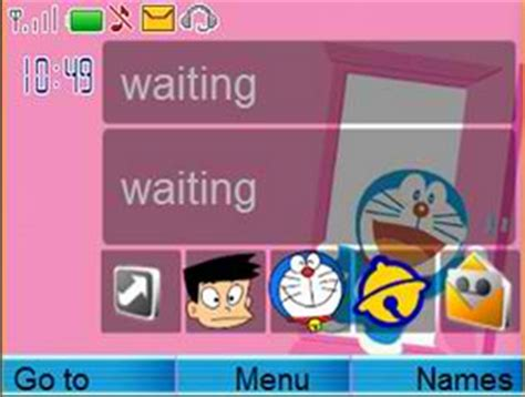 doraemon clock themes doraemon icon theme nokia c3 themes