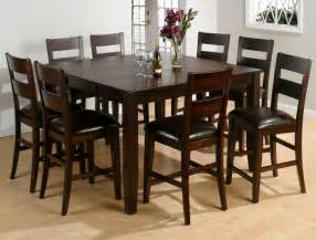 Kitchen Table Set by 9 Piece Set Kitchen Amp Dining Furniture Tables Chairs