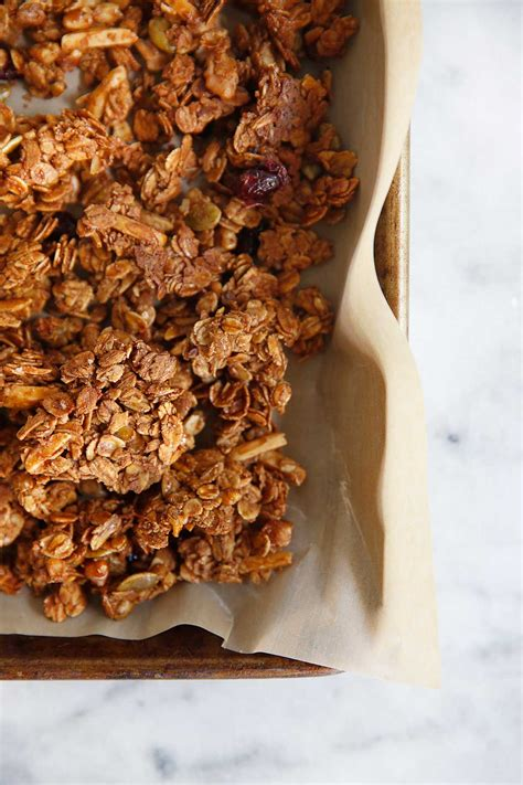 best recipe for granola the best gluten free granola recipe with crunchy clusters