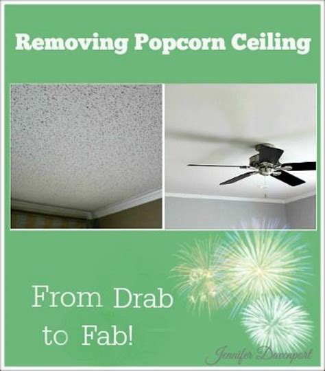 How To Remove Popcorn From Ceiling by Removing Popcorn Ceiling Do You Your Dated Ceiling Quot Diy Home Decor Ideas Quot