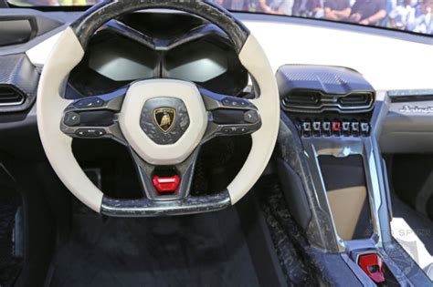 suv lamborghini interior quail event lamborghini urus suv concept cars