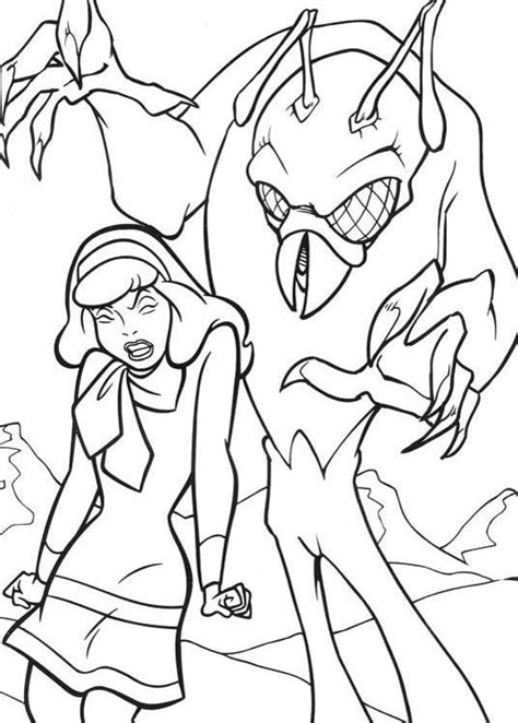 scooby doo coloring pages monsters scooby doo coloring pages free download and print scooby