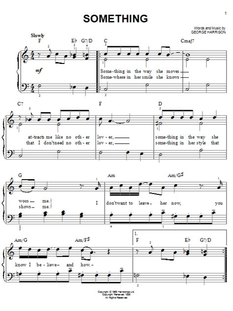Piano Chords To Say Something
