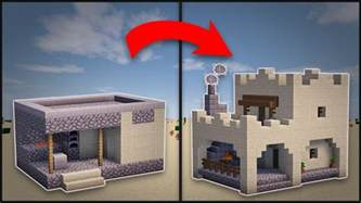 minecraft how to remodel a desert blacksmith