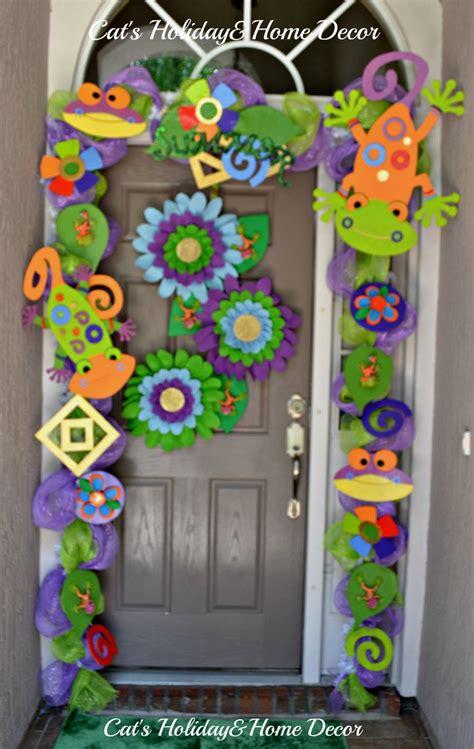 Summer Door Decorations by Summer Door Decor Lizards Projects