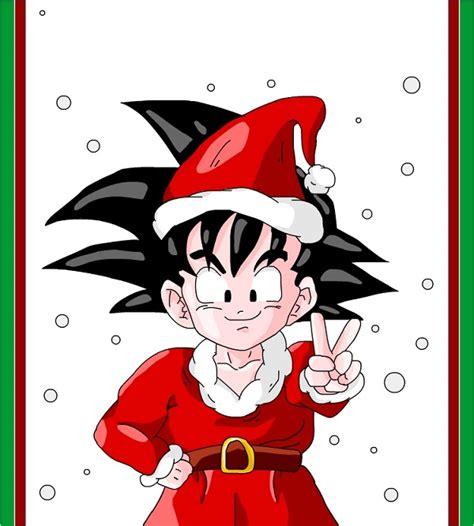 imagenes de navidad dragon ball z revive momentos lindos con las imagenes de navidad de