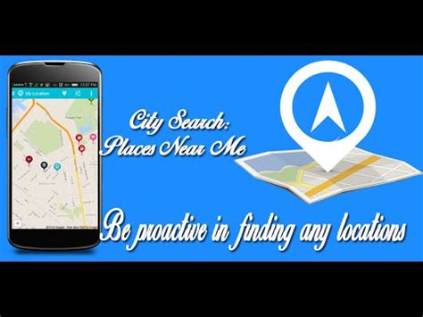 city search places near me app for android