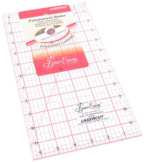 Patchwork Ruler - patchwork ruler 12 x 6 5