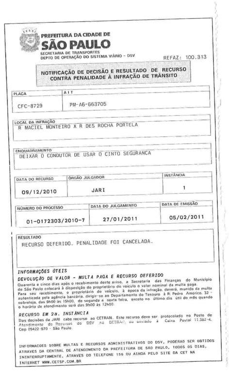 carta para transferencia de multa modelo de recurso de multa de tr 226 nsito