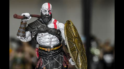 god of war review kratos is totally different and it neca 2018 god of war kratos review youtube
