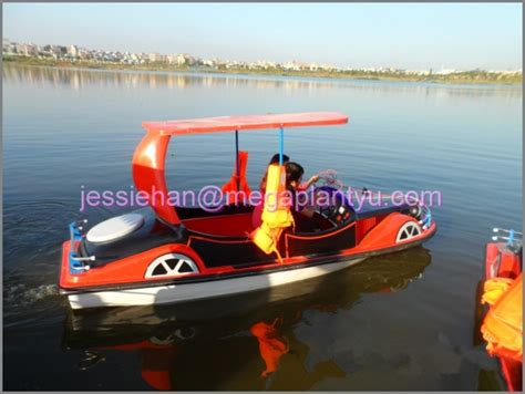types of electric boats classic car type electric boat for 4 peason