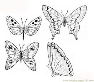 butterfly coloring pages pdf butterflies coloring page coloring page free beautifull