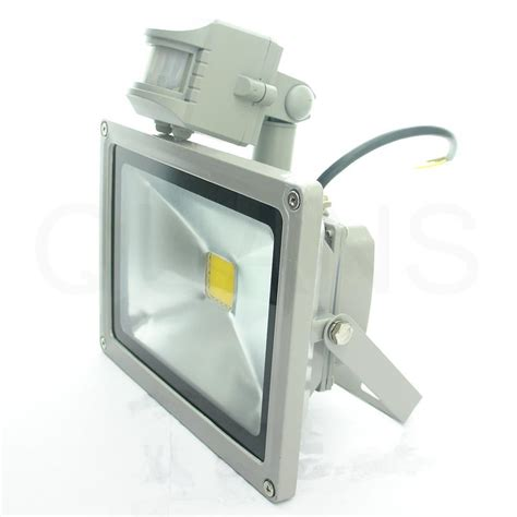 Taffware Led Floodlight 20w Without Pir gd 20w warm white led flood light floodlight pir motion sensor l outdoor gy ebay