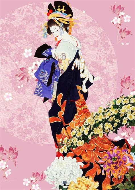 tapisserie japonaise fille japonaise 1 quot dessinage quot papier peint