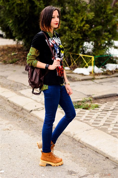 geeks fashion 21 cool ways to wear timberland boots for
