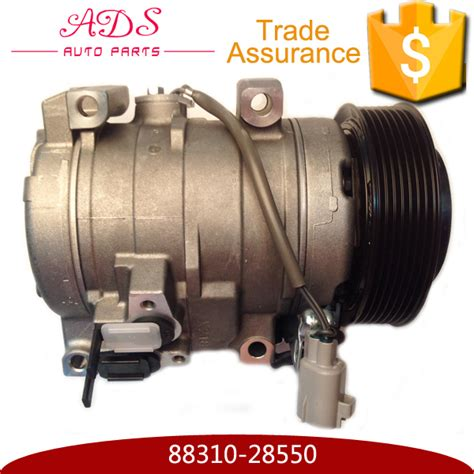 car electric automotive air conditioning compressor fit for toyota previa alphard pv7 oem 88310