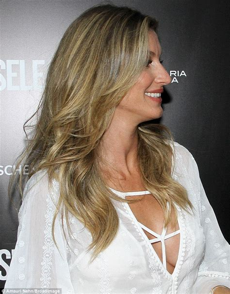 Get Giseles Colcci Launch Look by Gisele Bundchen Shows Fuller Chest After Secret