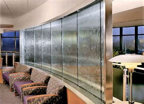 interior design harmonic environments indoor waterfalls