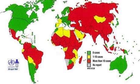 polio cases around the world image gallery polio statistics