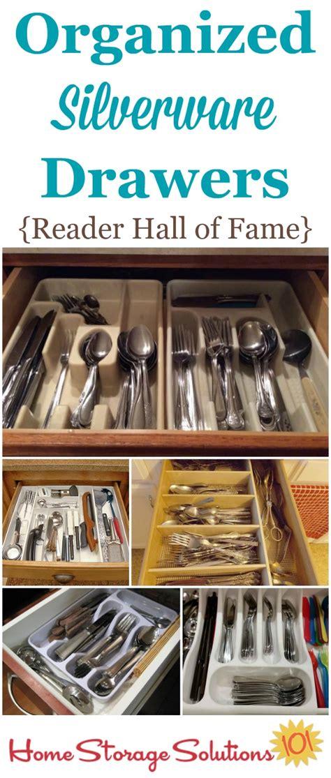 home storage solutions 101 organized home declutter organize silverware drawer of fame