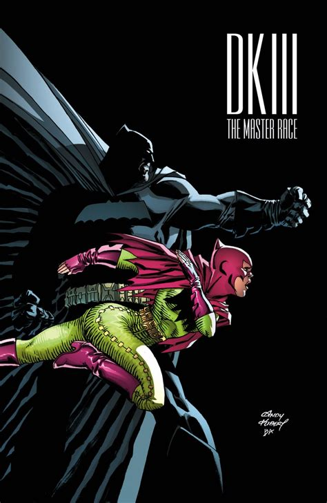 batman dark knight iii the first picture of frank miller s carrie kelley as batgirl in the upcoming dk iii 6
