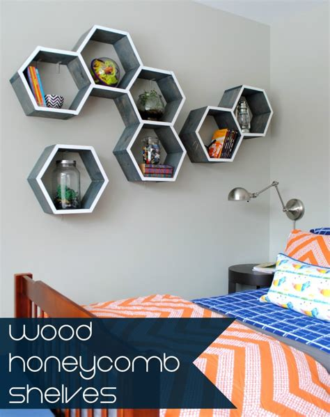 diy honeycomb shelves diy wood honeycomb shelves burger