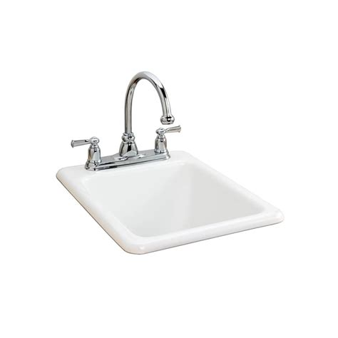 american standard cast iron kitchen sinks american standard 7085 803 345 bisque island drop in