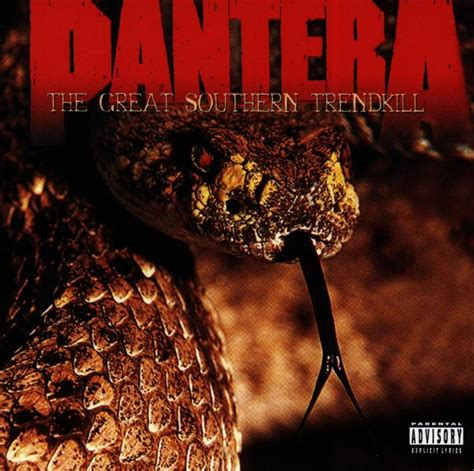 Cd The Panturas pantera the great southern trendkill eastwest cd grooves inc