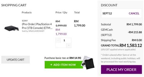 Pro Malaysia you can pre order the sony ps4 slim from rm1 200