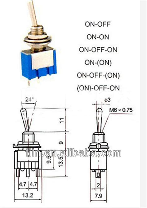 125vac toggle switch wiring diagram 6 prong toggle switch