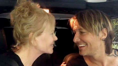 keith urban cancels gig after wife nicole kidman keith s sweet and silly serenade to