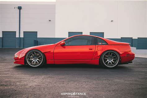nissan 300zx rocket bunny czp zero front rear widebody overfender kit 2 2