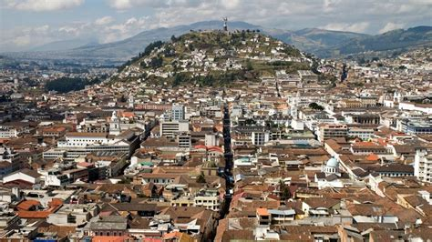 quito quito ecuador in the andes on the equator truly scenic