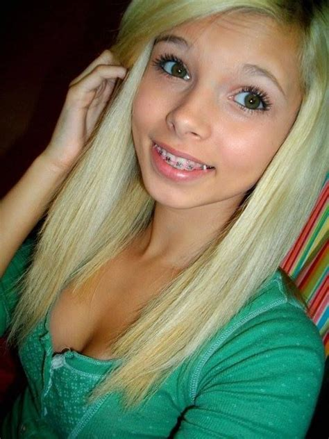 blonde models with braces 73 best images about girl on pinterest bestfriends hair