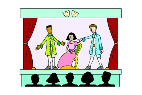 play theater stage clip art theater play clip art www pixshark com images