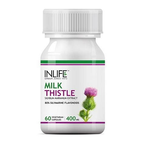 Milk Detox by Buy Inlife Milk Thistle Liver Cleanse Detox Support