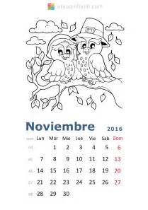 Calendario Para Imprimir Calendario De 2016 Para Imprimir Y Colorear Etapa Infantil