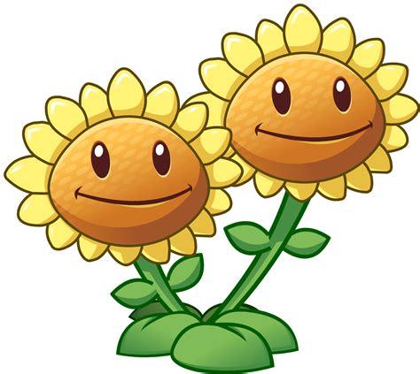 imagenes hot flor peña image twin sunflower hd png plants vs zombies