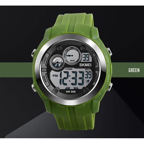 Skmei Jam Tangan Digital Pria Dg1233 skmei jam tangan digital sporty pria dg1234 army green jakartanotebook